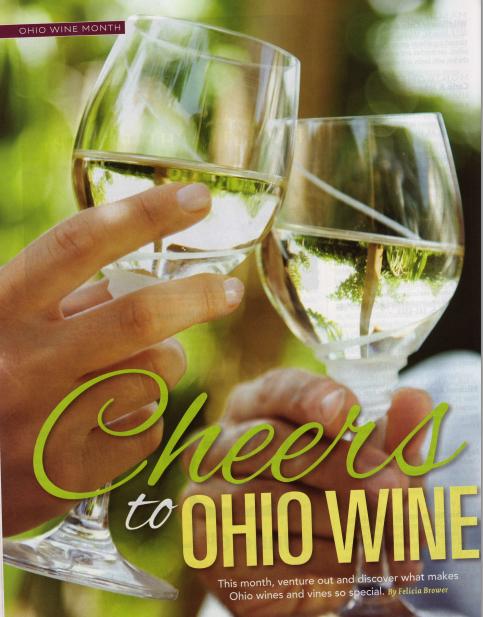 Cheers to Ohio WIne